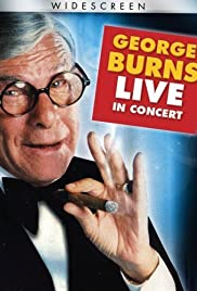 George Burns in Concert Poster