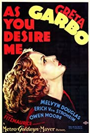 As You Desire Me Poster