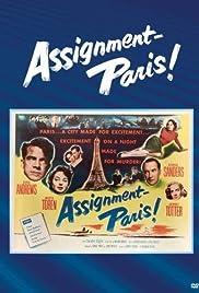 Assignment: Paris Poster