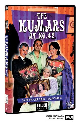 Sanjeev Bhaskar, Indira Joshi, Meera Syal, and Vincent Ebrahim in The Kumars at No. 42 (2001)