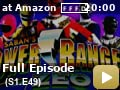 Power Rangers Zeo: Season 1: Episode 49 -- The Rangers, together with their friend Raymond, help Ernie set up for a multicultural holiday banquet, and in the process learn how different cultures celebrate the holidays.