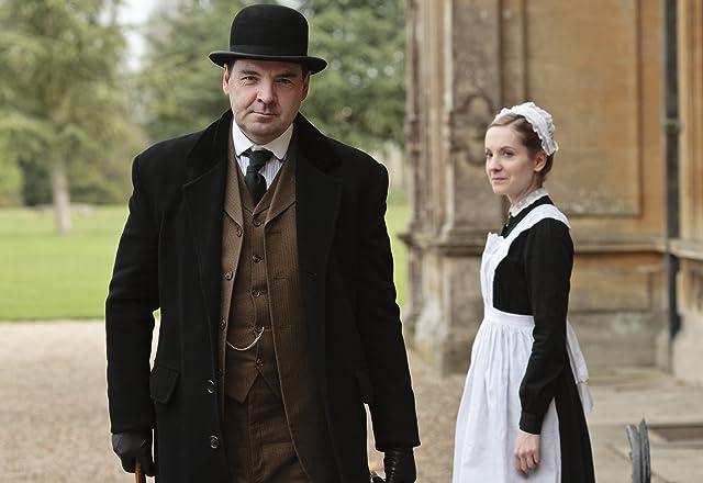 Brendan Coyle and Joanne Froggatt in Downton Abbey (2010)