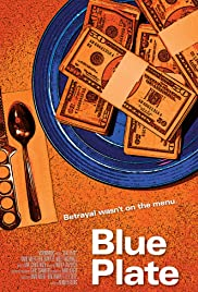 Blue Plate Poster