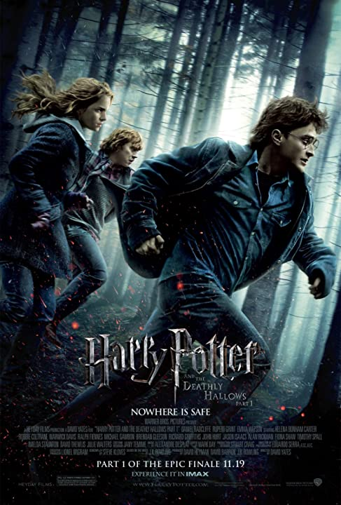 Image result for harry potter and the deathly hallows part 1 poster