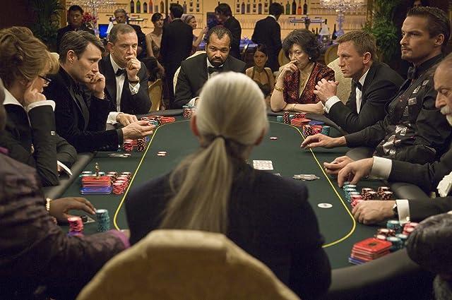 Ade, Urbano Barberini, Tsai Chin, Daniel Craig, Mads Mikkelsen, Lazar Ristovski, Jeffrey Wright, and Carlos Leal in Casino Royale (2006)