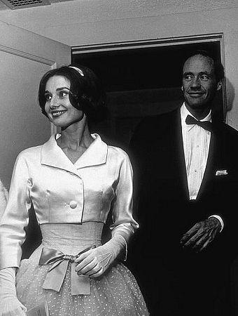 33-61 Audrey Hepburn and Mel Ferrer Los Angeles CA