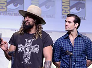 Henry Cavill and Jason Momoa