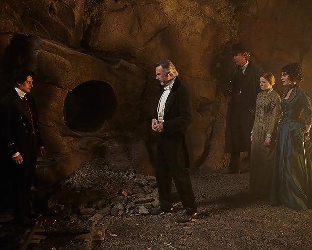 Sam Neill, Lena Headey, and Aneurin Barnard in The Adventurer: The Curse of the Midas Box (2013)