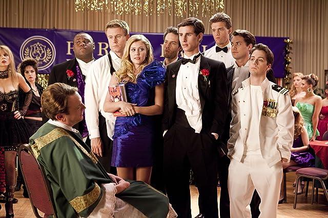 Drew Seeley, Julianna Guill, Callard Harris, James Earl, Matt Bush, Kelly Blatz, and Hartley Sawyer in Glory Daze (2010)