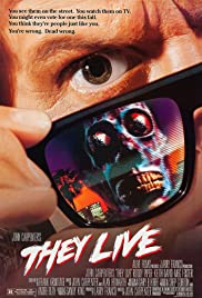 They Live (1988) Poster - Movie Forum, Cast, Reviews