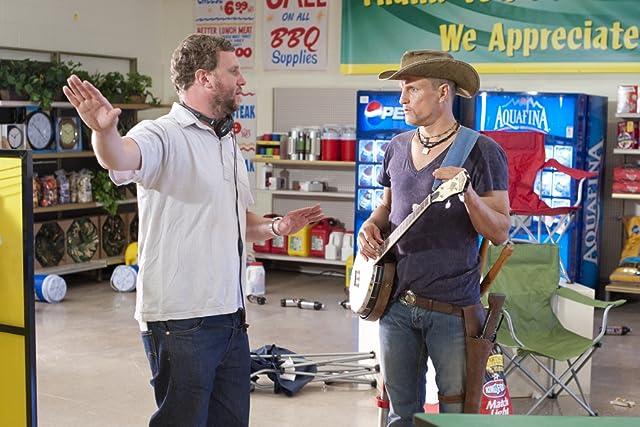 Woody Harrelson and Ruben Fleischer in Zombieland (2009)
