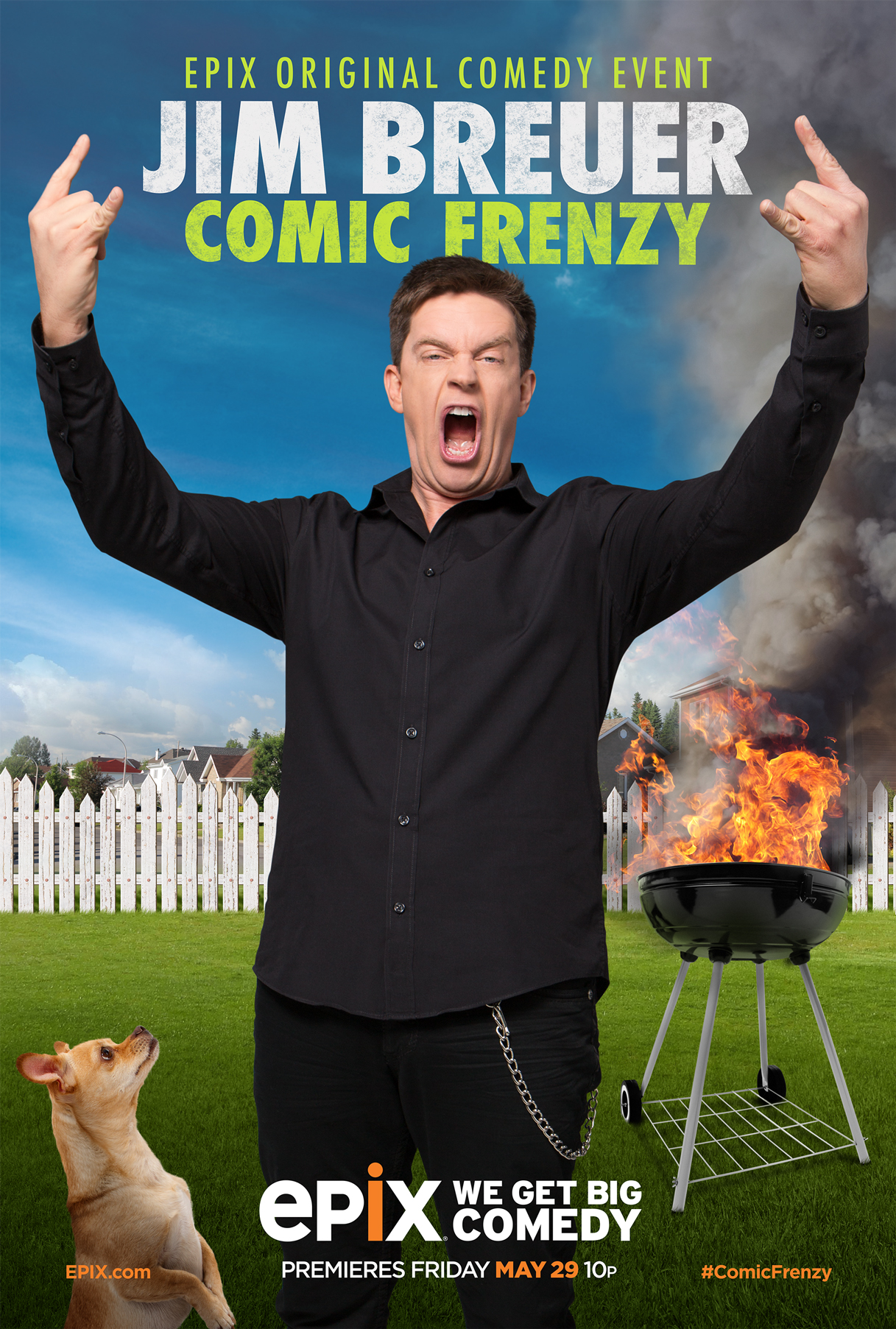 image Jim Breuer: Comic Frenzy (2015) (TV) Watch Full Movie Free Online