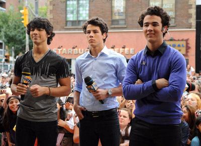 Kevin Jonas, Joe Jonas, and Nick Jonas