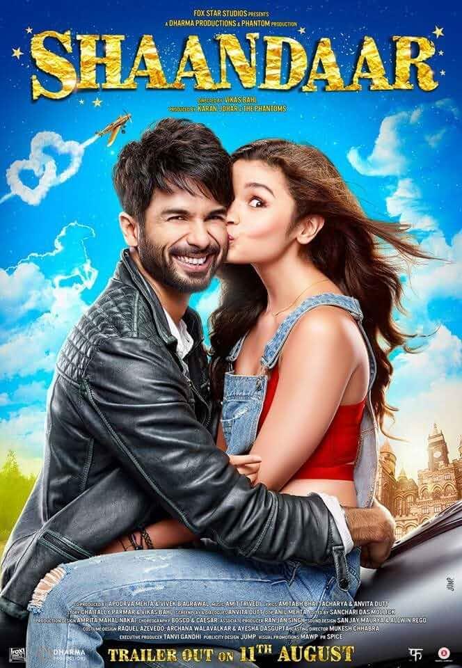 Shaandaar 2015 Full Hindi Movie 480p BluRay full movie watch online freee download at movies365.lol