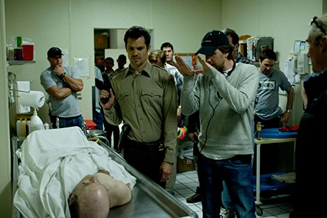 Breck Eisner and Timothy Olyphant in The Crazies (2010)