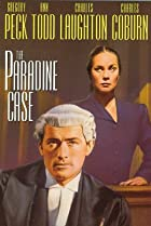 The Paradine Case (1947) Poster