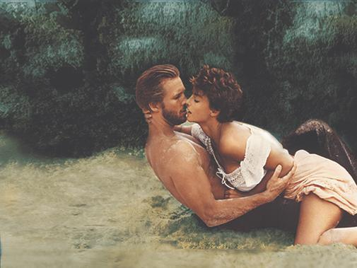 Jeff Bridges and Rachel Ward in Against All Odds (1984)