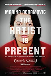 Marina Abramovic: The Artist Is Present  Poster