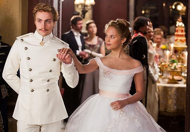 Aaron Taylor-Johnson and Alicia Vikander in Anna Karenina (2012)