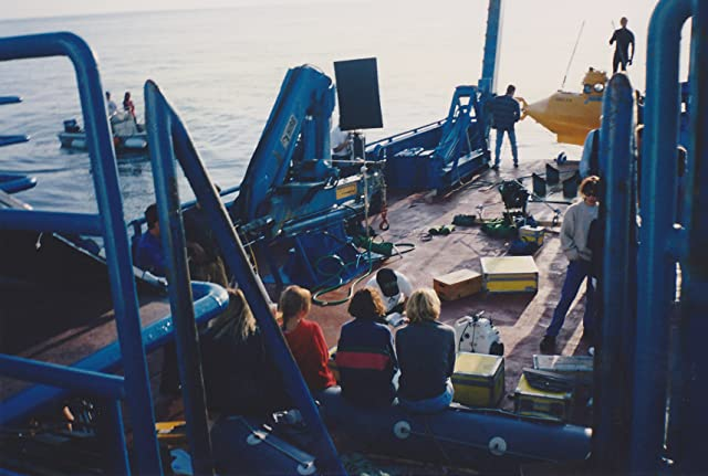 Filming Mars Candy Bar Commercial In Open Ocean With Research Ship And Mini Sub