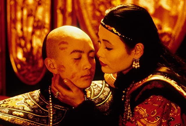 Joan Chen and Tao Wu in The Last Emperor (1987)