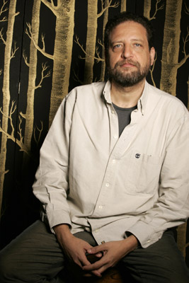 Fabián Bielinsky at an event for The Aura (2005)