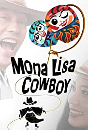 Mona Lisa Cowboy Poster