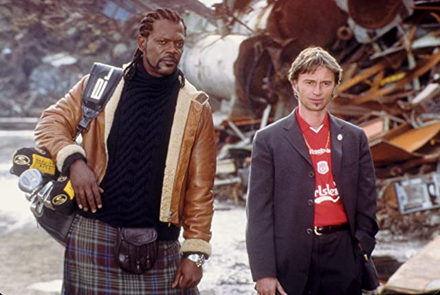 Samuel L. Jackson and Robert Carlyle in Formula 51 (2001)