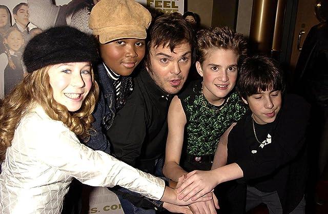 Jack Black, Victoria House, Joey Gaydos Jr., Maryam Hassan, and Caitlin Hale
