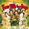 Carmen Miranda, Betty Grable, Alice Faye, Kay Francis, George Jessel, Carole Landis, Mitzi Mayfair, and Martha Raye in Four Jills in a Jeep (1944)