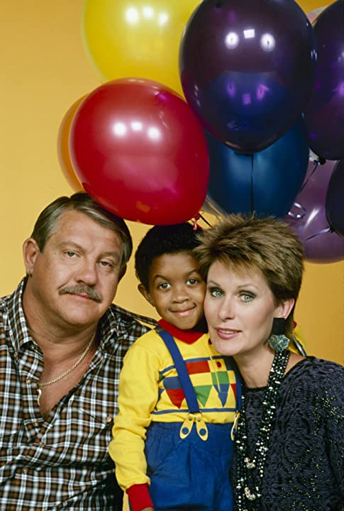 Susan Clark, Alex Karras, and Emmanuel Lewis at an event for Webster (1983)