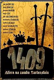 1409. Afera na zamku Bartenstein Poster