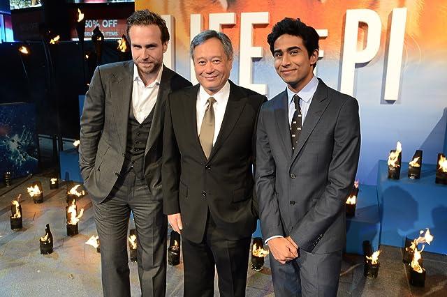 Ang Lee, Rafe Spall, and Suraj Sharma at Life of Pi (2012)