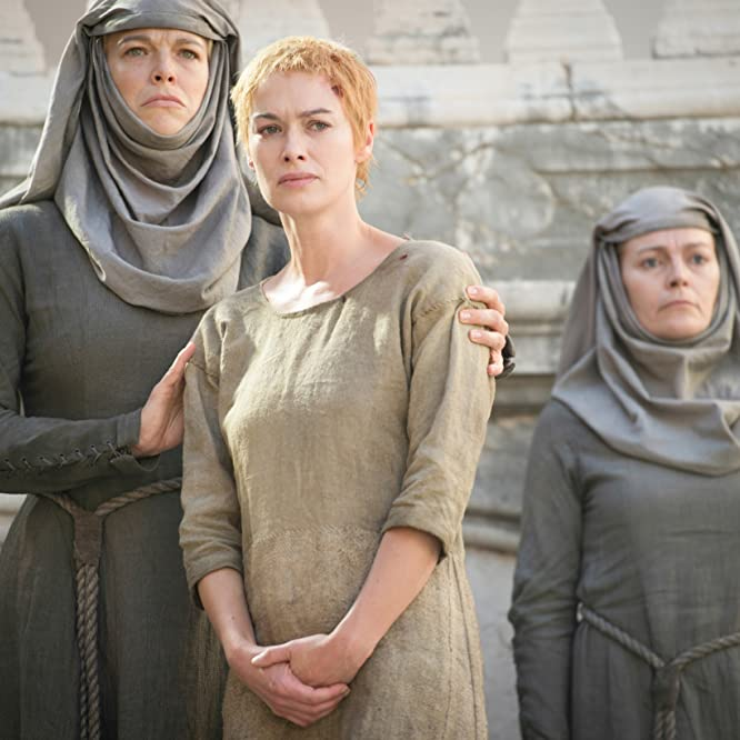 Lena Headey and Hannah Waddingham in Game of Thrones (2011)
