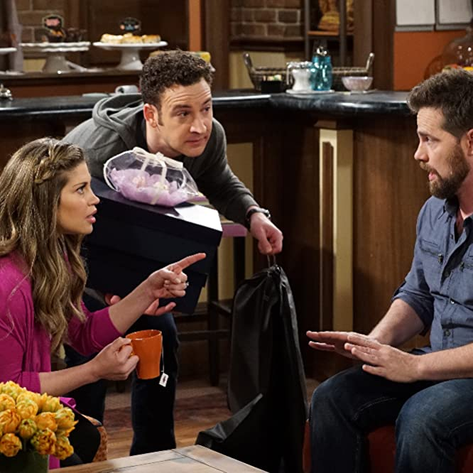 Danielle Fishel, Ben Savage, and Rider Strong in Girl Meets World (2014)
