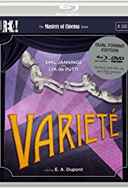 Variety (1925) Poster - Movie Forum, Cast, Reviews