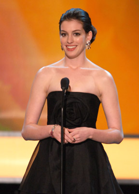 Anne Hathaway at 13th Annual Screen Actors Guild Awards (2007)