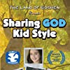 DVD insert cover for our award winning film, Sharing GOD Kid Style