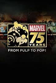 Marvel 75 Years: From Pulp to Pop! (2014) Poster - Movie Forum, Cast, Reviews