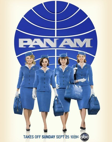 Christina Ricci and Margot Robbie in Pan Am (2011)