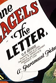 The Letter (1929) Poster - Movie Forum, Cast, Reviews