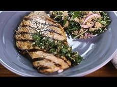 Grilled Chicken Piccata