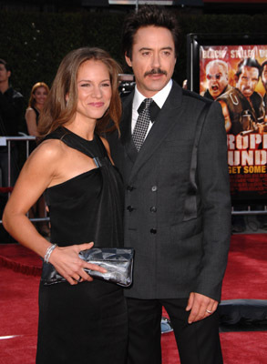 Robert Downey Jr. and Susan Downey at an event for Tropic Thunder (2008)