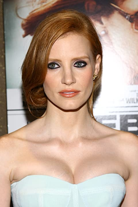 Jessica Chastain at an event for The Debt (2010)