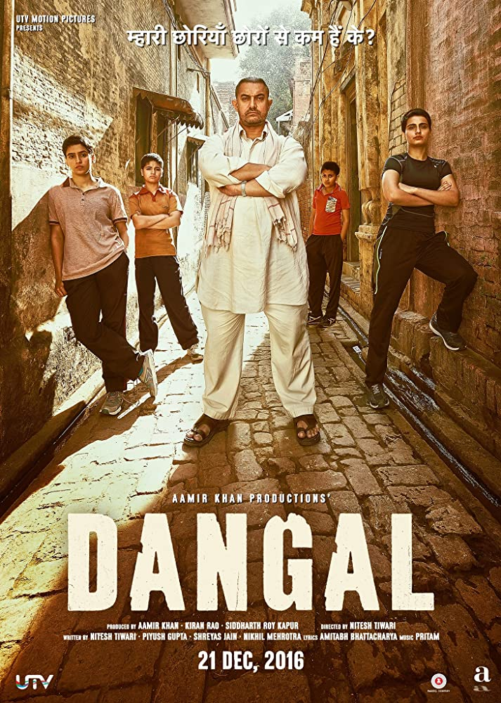 Dangal 2016 Hindi HEVC 720p DVDScr 700MB