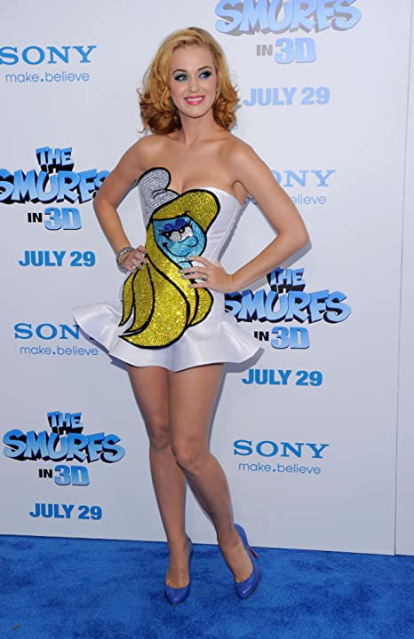 Katy Perry at The Smurfs (2011)