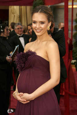 Jessica Alba at an event for The 80th Annual Academy Awards (2008)