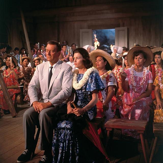 John Wayne and Elizabeth Allen in Donovan's Reef (1963)