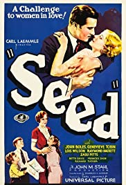 Seed (1931) Poster - Movie Forum, Cast, Reviews