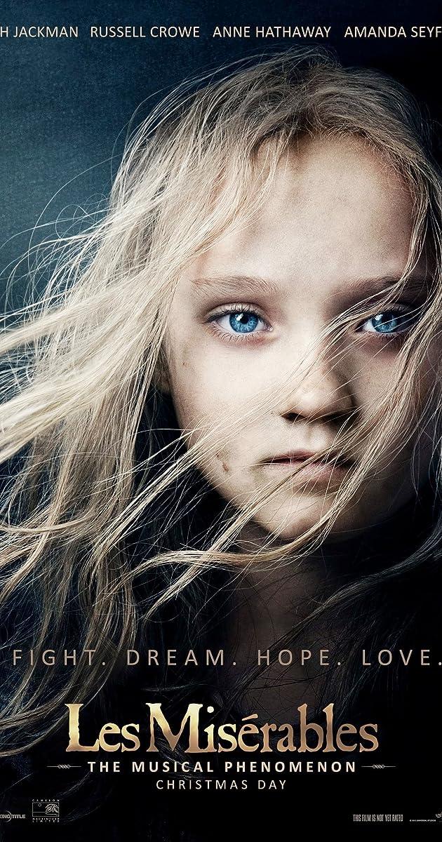 Vargdieniai / Les Misérables (2012) Online